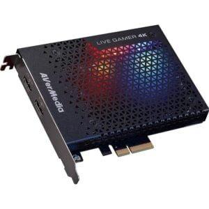 Placa de Captura 4Kp60 HDR Avermedia Live Gamer PCI-E 2x4 - GC573