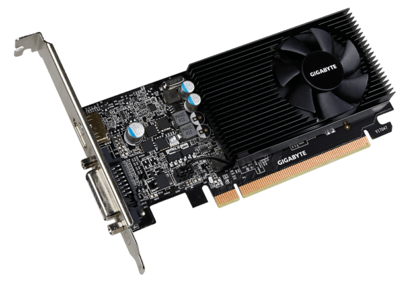 Placa de Vídeo Gigabyte Geforce GT 1030 2GB DDR4 64BITS