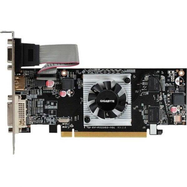 Placa de Vídeo Gigabyte Radeon R5 230 1GB DDR3 64BITS