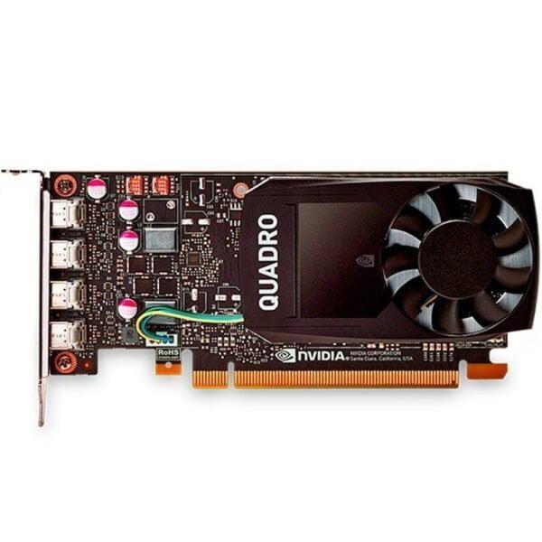 Placa de Vídeo PNY Nvidia Quadro P1000 4GB DDR5 128BITS
