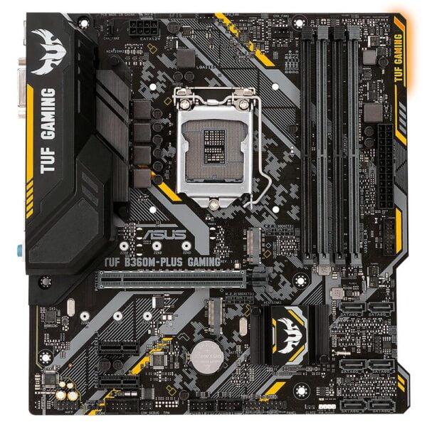 Placa Mãe Asus Intel Lga1151 Chipset B360M-PLUS DDR4 Mini Atx 8ª/9ª  Geração