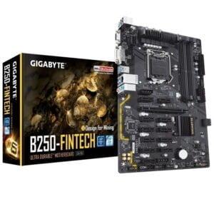 Placa Mãe Gigabyte Intel Lga1151 Chipset B250, Ddr4, Atx 7ª GERAÇÃO
