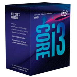 Processador Intel Core I3 8300 8MB Cache LGA 1151 3.70 Ghz S/ Cooler