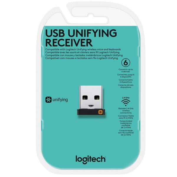 Receptor Unifying Logitech USB 2.4GHz - 910-005235