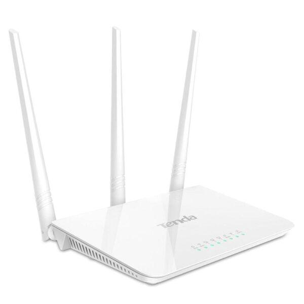 Roteador Com 3 Antenas Tenda 300Mbps – F3