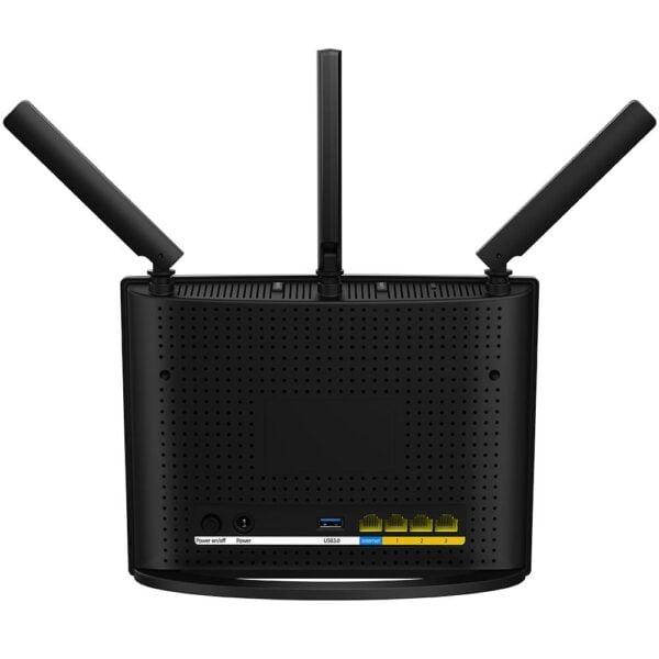 Roteador Com 3 Antenas Tenda Dual Band 1300Mbps - AC15