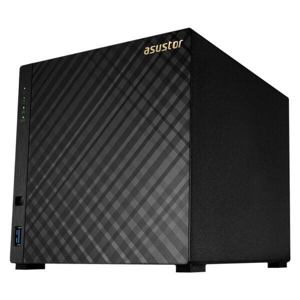 Servidor Nas Asustor 4 Baias Dual Core 1.6GHz S/ HD – AS1004T V2