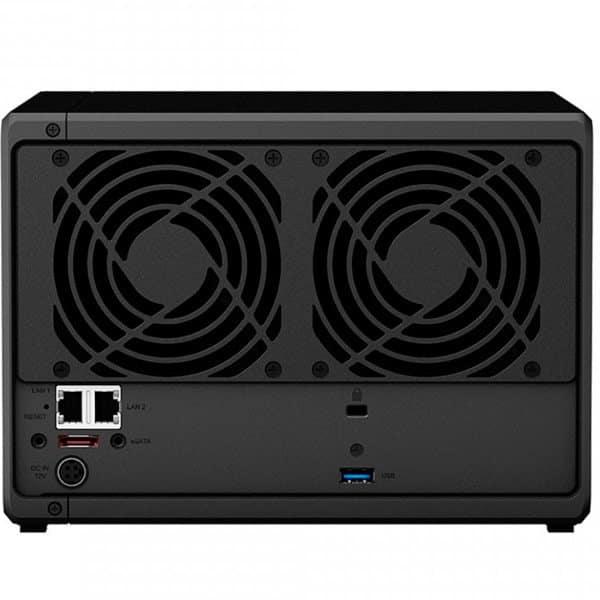 Servidor NAS Synology DiskStation 5 Baias Quad Core 1.5/2.3 GHz - DS1019+