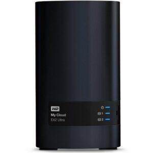Servidor Nas Western Digital 2 Baias My Cloud Expert Series EX2 Ultra S/HD - WDBVBZ0000NCH-NESN