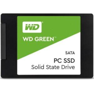 SSD Western Digital Green 120GB SATA Leitura 545MB/s - WDS120G2G0A