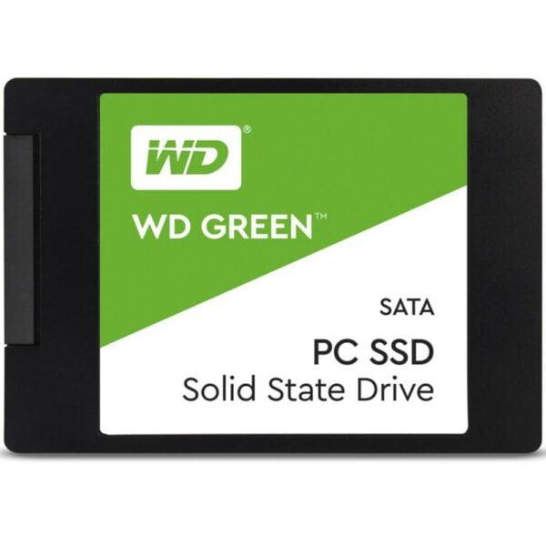 SSD Western Digital Green 480GB SATA Leitura 545MB/s - WDS480G2G0A