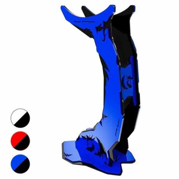 Suporte Para Headset Redragon Branco, Vermelho e Azul -  H1002