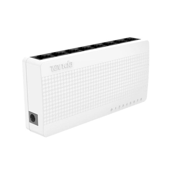 Switch 8 Portas Tenda 10/100Mbps 1.6Gbps - S108