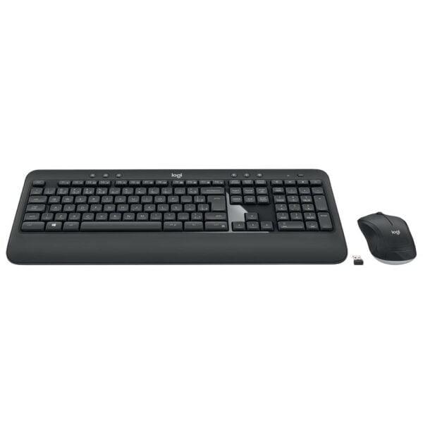 Teclado e Mouse Logitech Sem Fio MK540 Advanced Multimídia Unifying ABNT2 - 920-008674