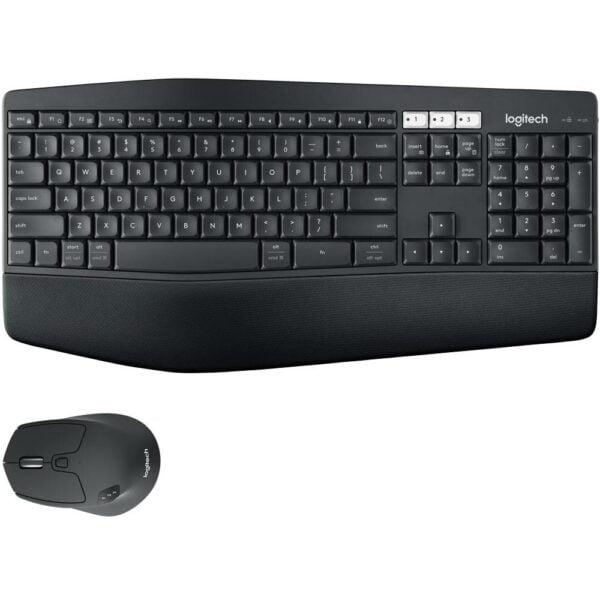 Teclado E Mouse Sem Fio Logitech Performance Usa - Mk850