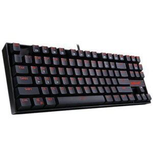 Teclado Mecânico Gamer Switch Brown Redragon Kumara K552 Abnt2