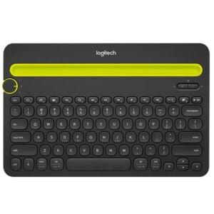 Teclado Sem Fio Logitech K480 Bluetooth Multi-Dispositivos - US