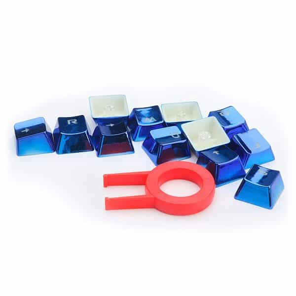 Teclas Customizadas Azuis Para Teclados Redragon - A103B