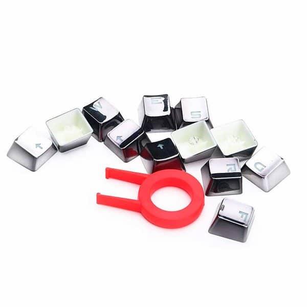 Teclas Customizadas Cinza Para Teclados Redragon – A103GR