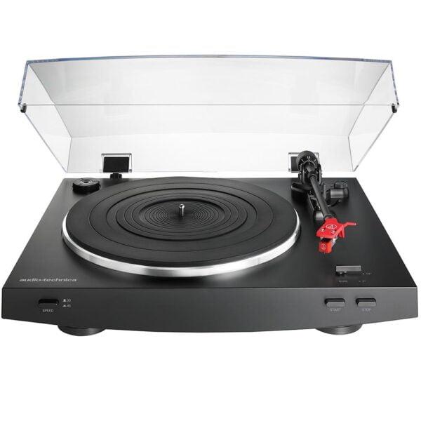 Toca Discos Automático Acionado Por Correia Audio-Technica - AT-LP3BK