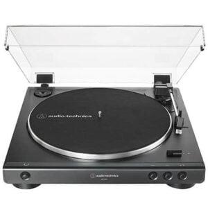 Toca Discos Automático Acionado Por Correia Audio-Technica - AT-LP60X-BK