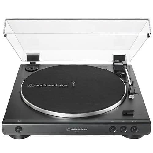Toca Discos Automático Acionado Por Correia Audio-Technica USB – AT-LP60XUSB-BK