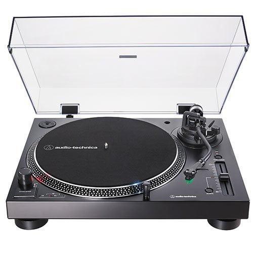 Toca Discos Manual 3 Velocidades Audio-Technica USB - AT-LP120XUSB-BK