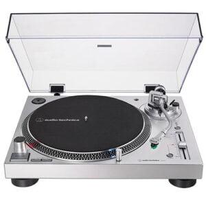 Toca Discos Manual 3 Velocidades Audio-Technica USB - AT-LP120XUSB-SV