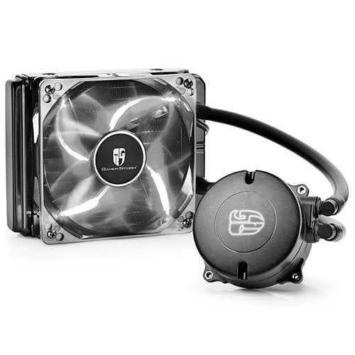 Water Cooler DeepCool Branco 120mm Maelstrom 120T - DP-GS-H12RL-MS120TWF
