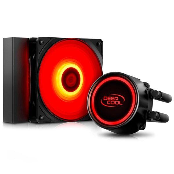 Water Cooler Deepcool Gammaxx L120T, LED Vermelho, 120mm
