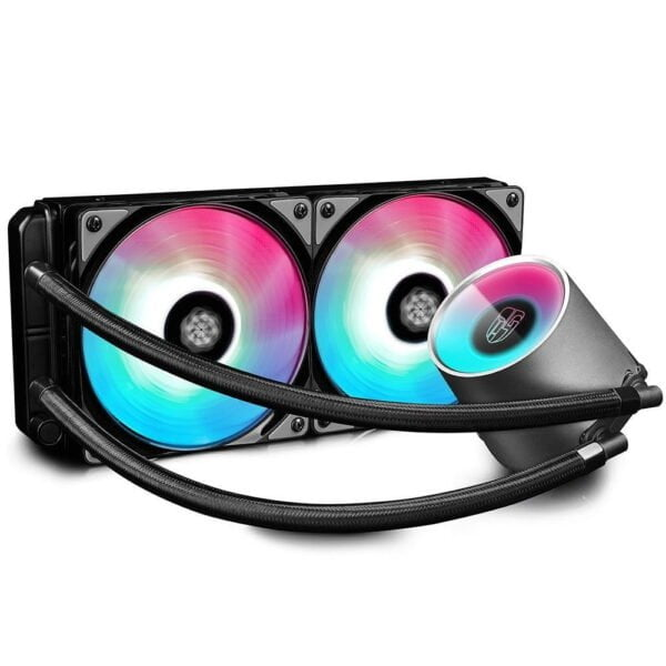 Water Cooler Deepcool RGB 240mm Castle 240 RGB - DP-GS-H12L-CSL240RGB