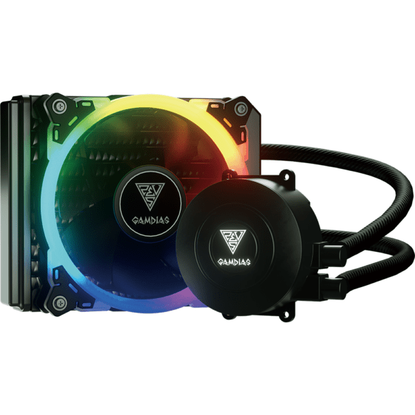 Water Cooler RGB Gamdias Chione 120mm E1A-120 Intel e Amd