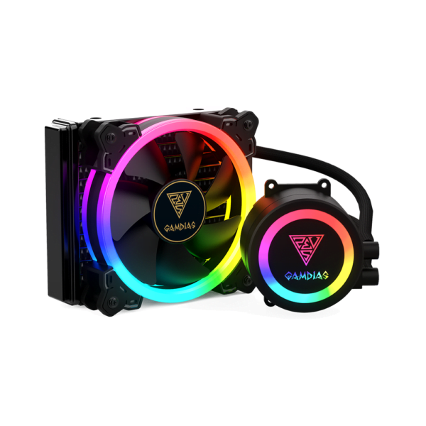 Water Cooler RGB Gamdias Chione 120mm E1A-120R Intel e Amd