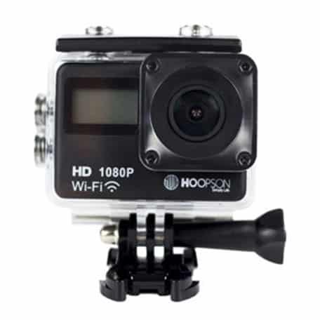 Webcam 2 em 1 Wi-Fi Ultra HD à Prova D'Água Hoopson - SCH-003