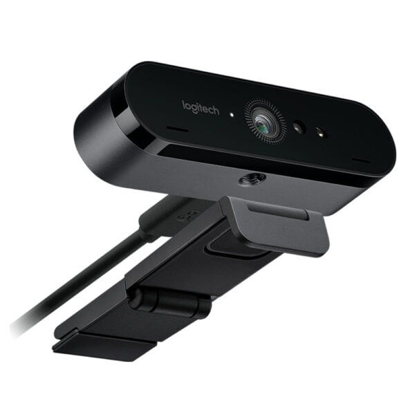Webcam Brio 4K Pro Ultra Hd Com Suporte a HDR e Windows Hello