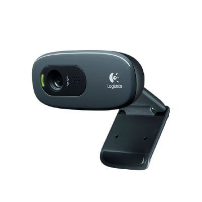 Webcam Logitech C270 HD USB 720P com Microfone