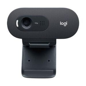 Webcam Logitech C505 com Microfone e Vídeo Panorâmico HD 720p/30fps