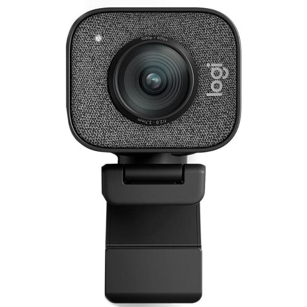 WebCam Logitech StreamCam Plus Full HD 1080p 60 fps Com Microfone, USB Tipo C - 960-001280