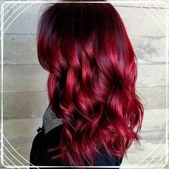 Cabelo Marsala Red