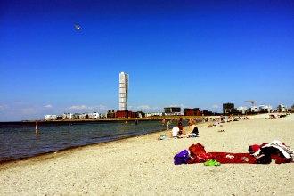 praia na suécia