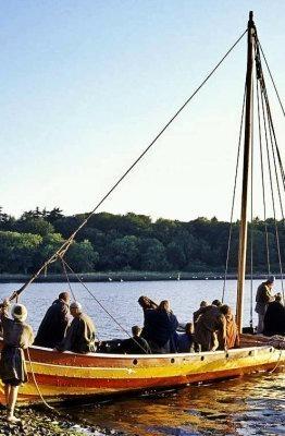 museu de barcos vikings de Roskilde