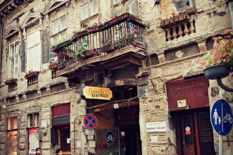 ruin pubs de Budapeste
