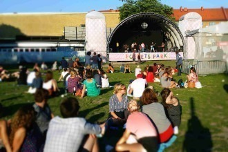 Festival Popegoja palco principal