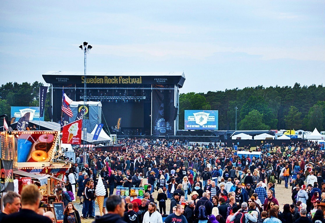 sweden rock stage