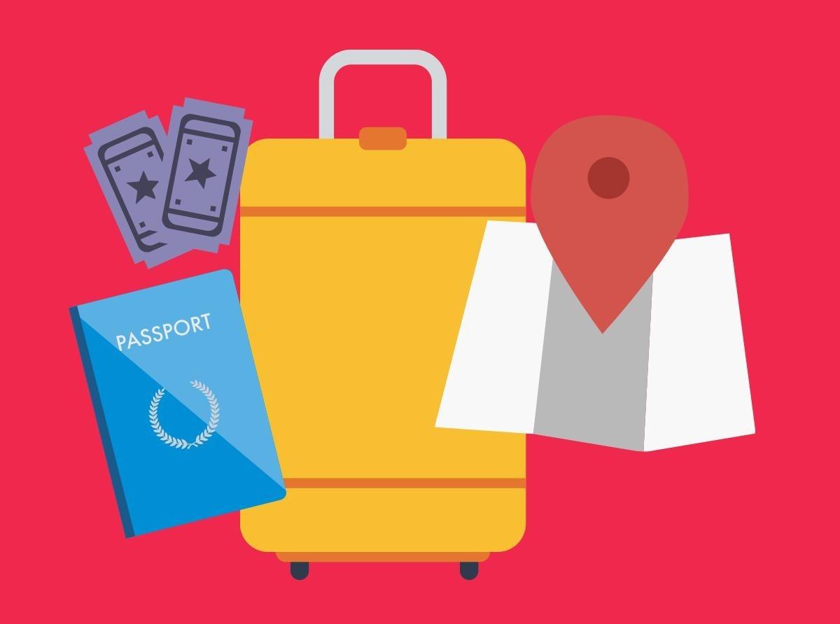 ferramentas para viajar para festivais