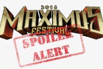 spoliers do maximus festival