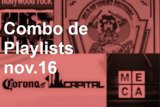 combo de playlists nov