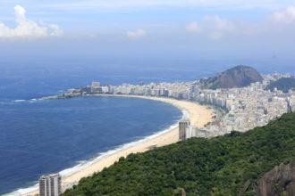 onde ficar no rio de janeiro praia de Copacabana