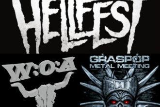 compartivo festivais de metal