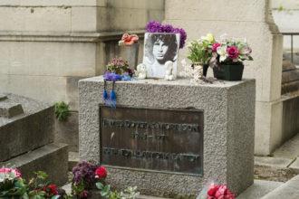 turismo musical no cemitério de Paris
